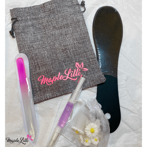 Foot pamper file gift set