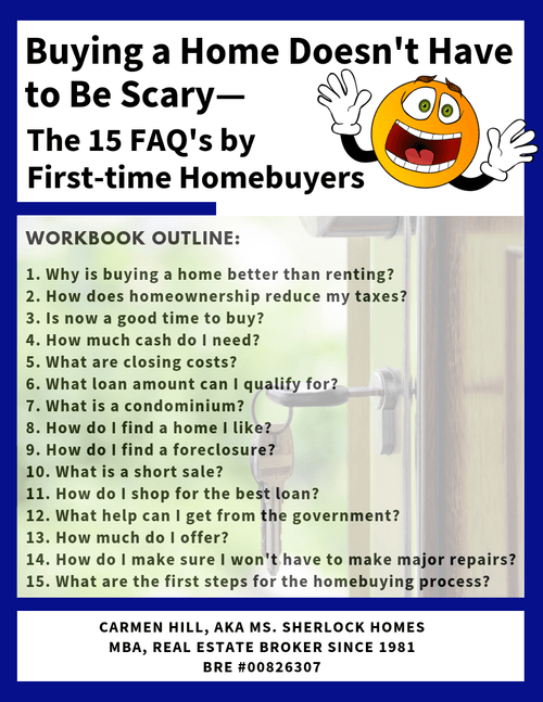 Buying a Home Doesn't Have to Be Scary—the 15 FAQ's by First-time Homebuyers