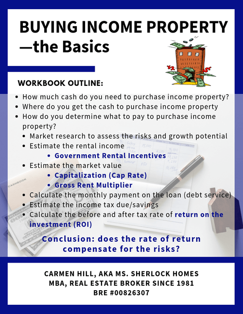 Buying Income Property—the Basics