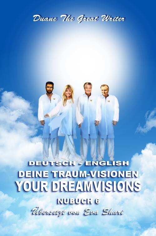 NUBUCH SECHS Deine Traum-Visionen ~ NUBOOK SIX YOUR DREAMVISIONS ENGLISH ~ DEUTSCH
