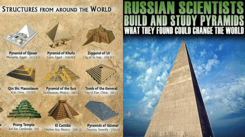 CUSTOM RUSSIAN PYRAMID
