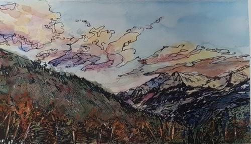 Val d'Aosta in inverno