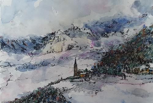 Saint Nicolas in inverno