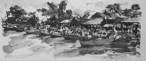 Urbanscapes - Pulau Ubin Singapore -  Jetty