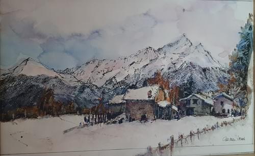 Vetan (Saint Pierre) - Inverno