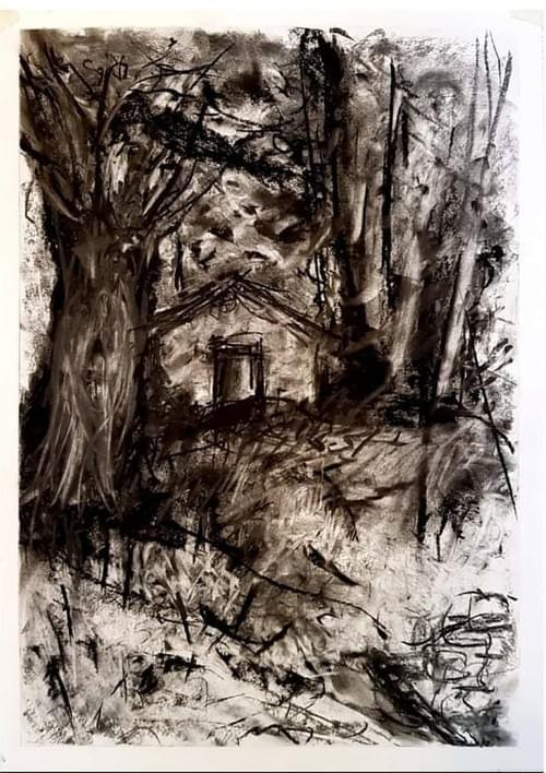 (SOLD) Stillness & Silence - Tuscany Hansel & Gretel