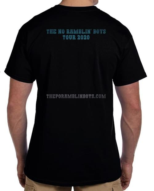 Po' Ramblin' Boys 2020 Tour Shirt