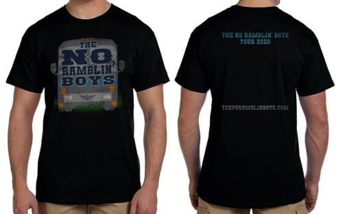 Po' Ramblin' Boys 2020 Tour Shirt