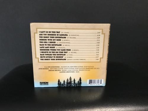 Back To The Mountains CD