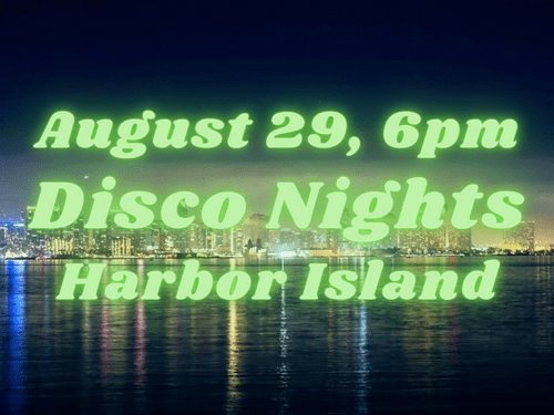 Aug 29th, 6:00pm, Harbor Island - Disco Theme - Silent Groove DANCEfloor experience