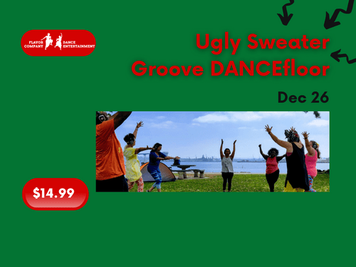 Dec 26, 8:30am, Liberty Station NTC Park - Ugly Sweater Silent Groove DANCEfloor experience