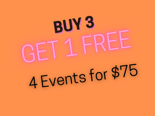 4 for 3 - Silent Event experience