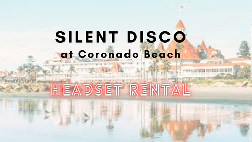 Silent Disco Headset Rental - 30 Jan 2021