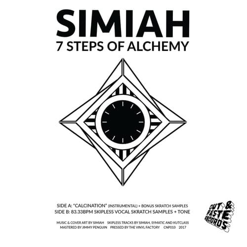 "7"" 7 Steps of Alchemy Scratch Record"
