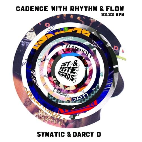 "7"" Cadence With Rhythm & Flow Scratch Record"