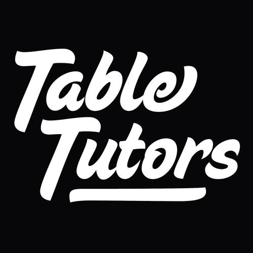 TableTutors Logo Sticker