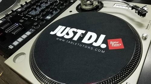 "7 "" & 12""  JUST DJ SLIPMATS"