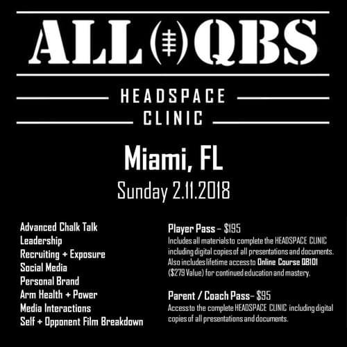 HEADSPACE Clinic - Miami, FL - Sun 2/11/2018