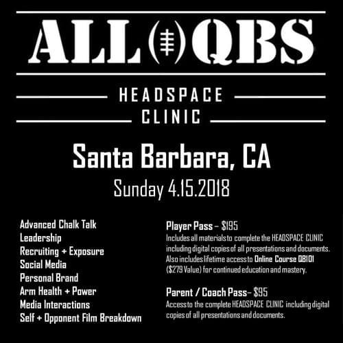 HEADSPACE Clinic - Santa Barbara, CA - Sun 4/15/2018