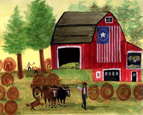 Folk Art-Americana Art