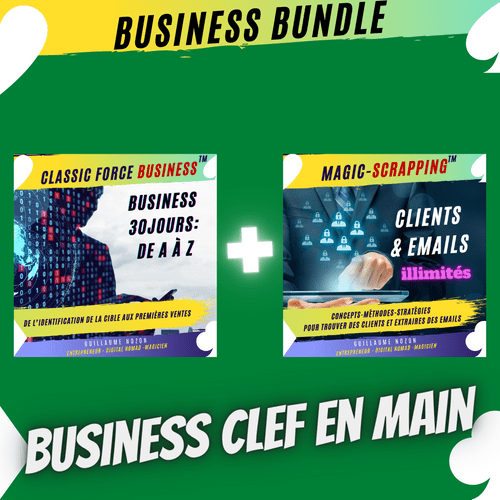 Business Bundle en 30jours.