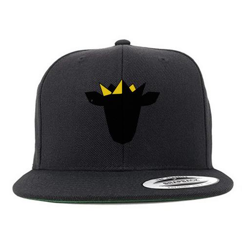 (BLACK) Royal Lamb Snap-Back