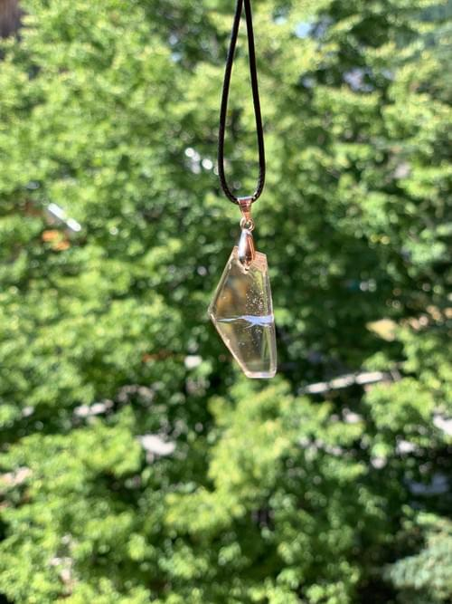 Pendentif lumière en cristal Nº3