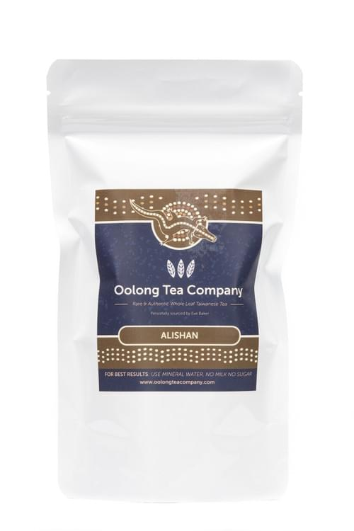 2. Alishan Oolong Tea