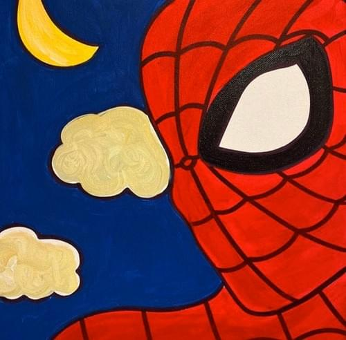 Spiderman Paint Party Kit