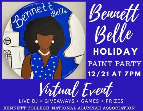 Bennett Belle Holiday Paint Party/Fundraiser