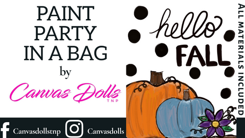 Hello Fall Paint Party Kit