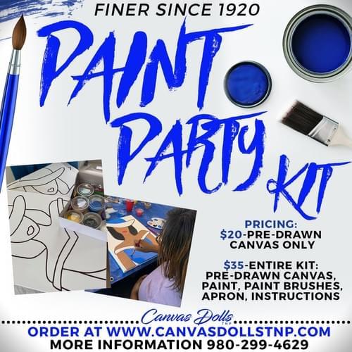 Finer Since 1920 Paint Party Kit