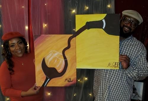Couples: Pour Me A Drink Paint Party Kit
