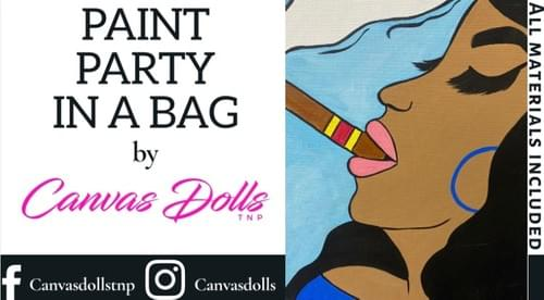 Ladies Love Cigars Too Paint Party Kit