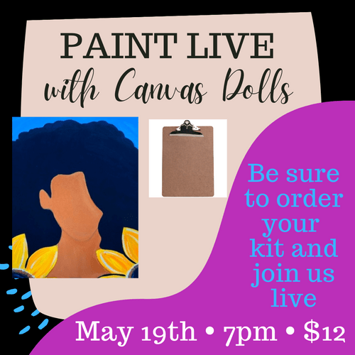 Clipboard Art: Paint With Us Live