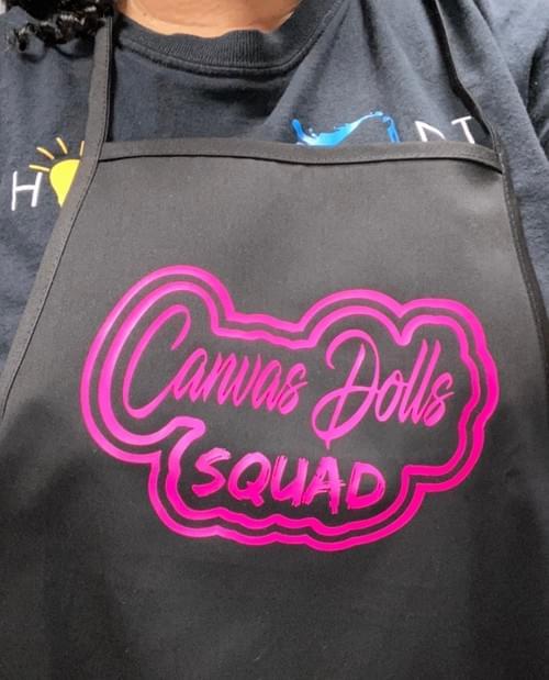 Canvas Dolls Squad Apron