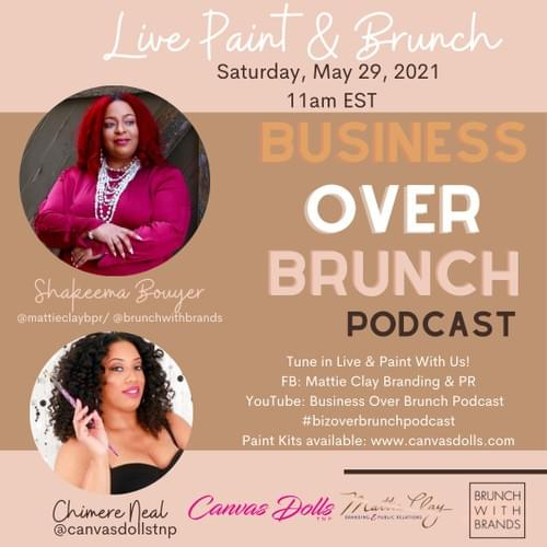 Business over Brunch: Live Paint
