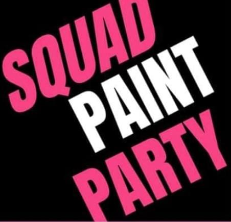 Canvas Dolls Birthday Event/ Squad Paint Party