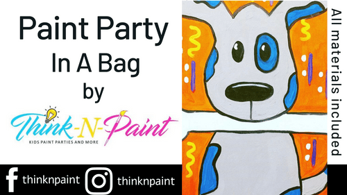 Rrrrrralph the Dog Paint Party Kit
