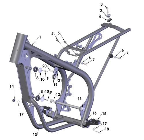 2020 COBRA CX50 FWE - FRAME 1