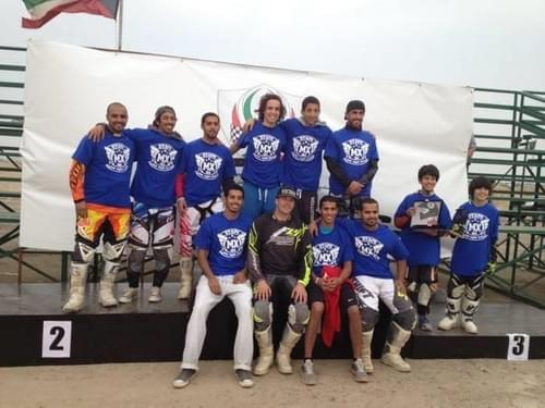 GROUP MOTOCROSS TRAINING