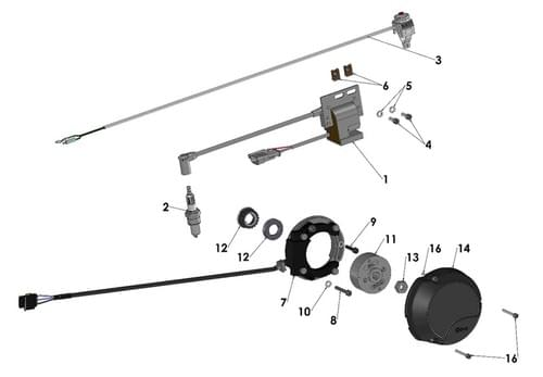 2020 COBRA CX50 FWE - ELECTRICAL SYSTEM