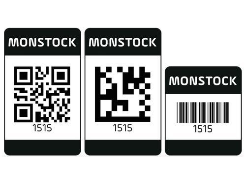 Étiquettes renforcées et auto-adhésives par 100