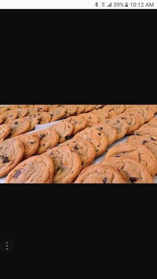 Cookies (dessert, not rolled)