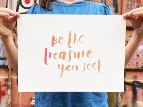 Be the Treasure You Seek, 2018