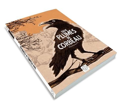 Deux plumes de corbeau