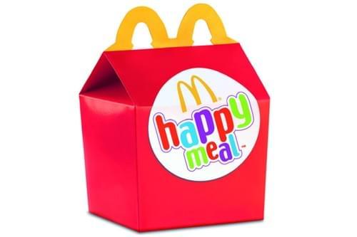 MENU HAPPY MEAL