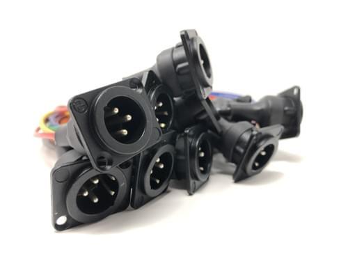"Neutrik 12'' TRS-XLR Pre Wire Kit (10 Channel Kit ) ""SOLD OUT""  SHIPPING TBD"