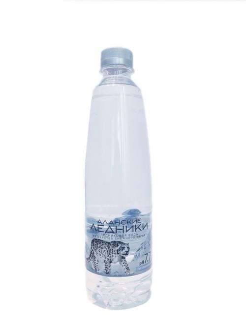"""Высокогорная ледниковая вода """"АЛАНСКИЕ ЛЕДНИКИ"""" Super-Premium 0,5л *12шт. пэт"""