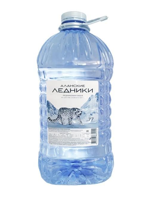 """Высокогорная ледниковая вода """"АЛАНСКИЕ ЛЕДНИКИ"""" SUPER-PREMIUM 5л*2 шт."""